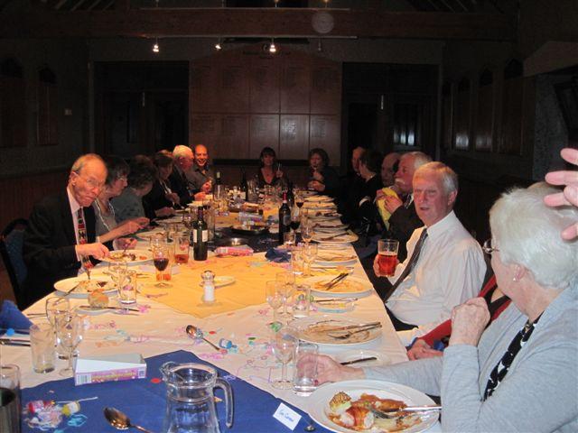 Tennis club annual dinner