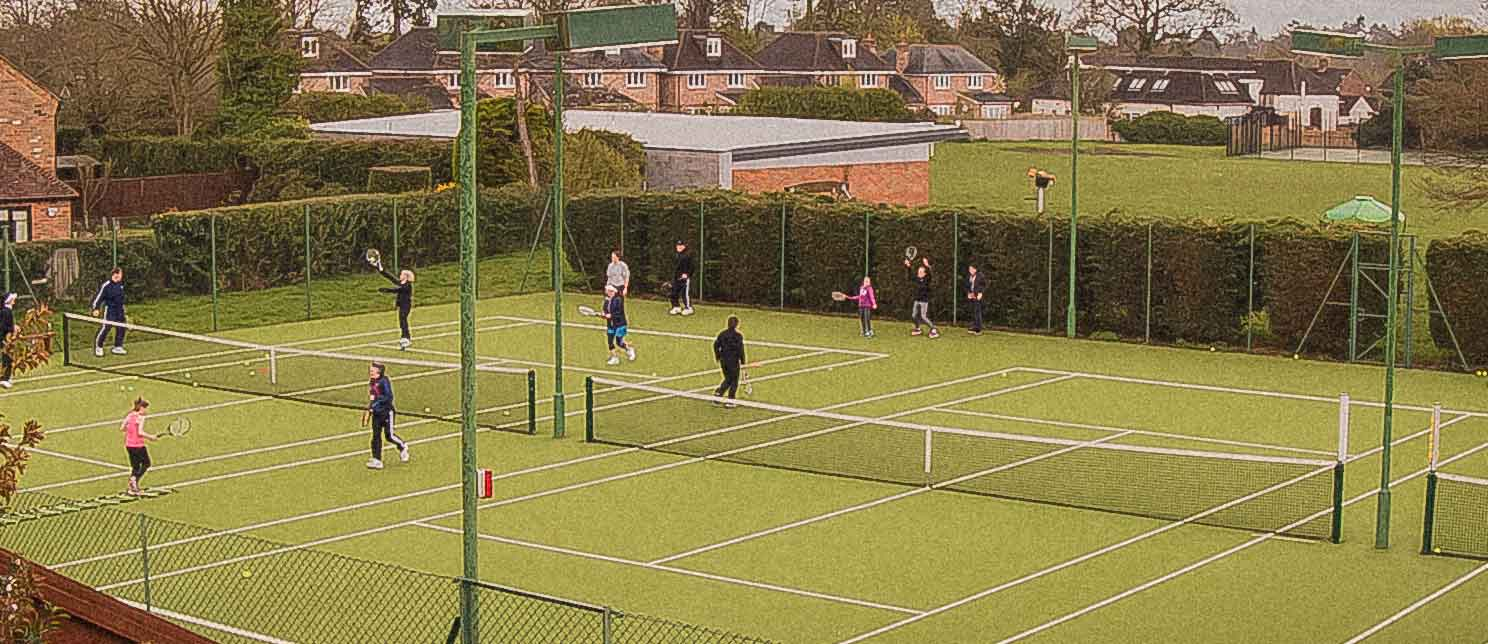 CARDIO, TENNIS, STOKE POGES, SLOUGH, BUCKS, COACH TATIANA GRIGORET