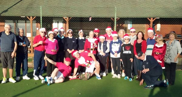 Wednesday lunchtime Christmas party 2017 at Stoke Poges lawn tennis club